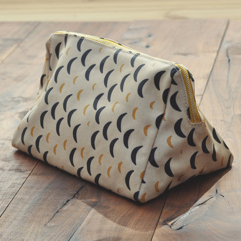 Odeme Crescent Moon Tent Zip Pouch
