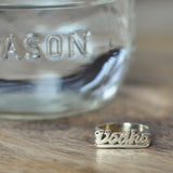 Vodka Nameplate Ring