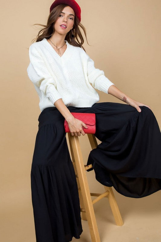 STARGAZER TIERED WIDE LEG PANT