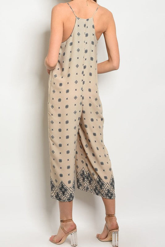 ELLIE PRINTED JUMPSUIT