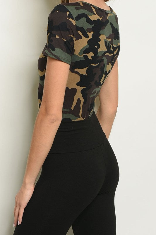 SAVANNAH CAMO BODYSUIT