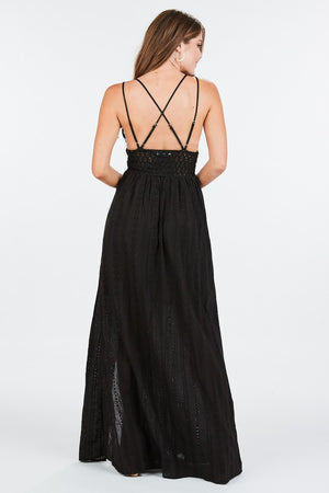 AXEL BRALETTE MAXI DRESS