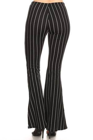 FARRYN STRIPE FLARE PANTS-