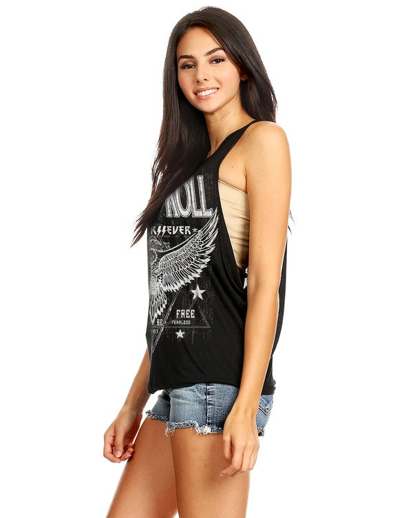 BENNY ROCK N ROLL T SHIRT BLK
