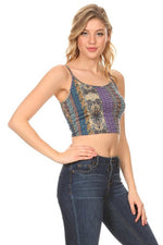 TOPAZ CROP TOP-