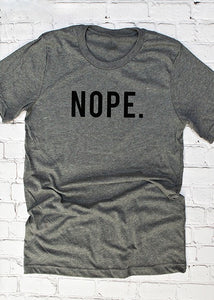 NOPE GRAPHIC TEE