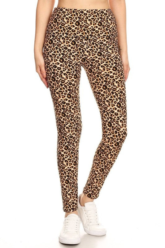 LEO PRINTED HIGH WAIST LEGGING