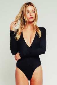 SO DAINTY DEEP V BODYSUIT