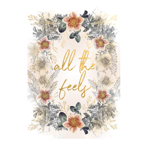 C1- Greeting Card - All the Feels