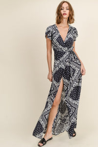 KELLYANNE PRINTED MAXI DRESS