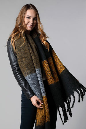 MILE HIGH BLANKET SCARF