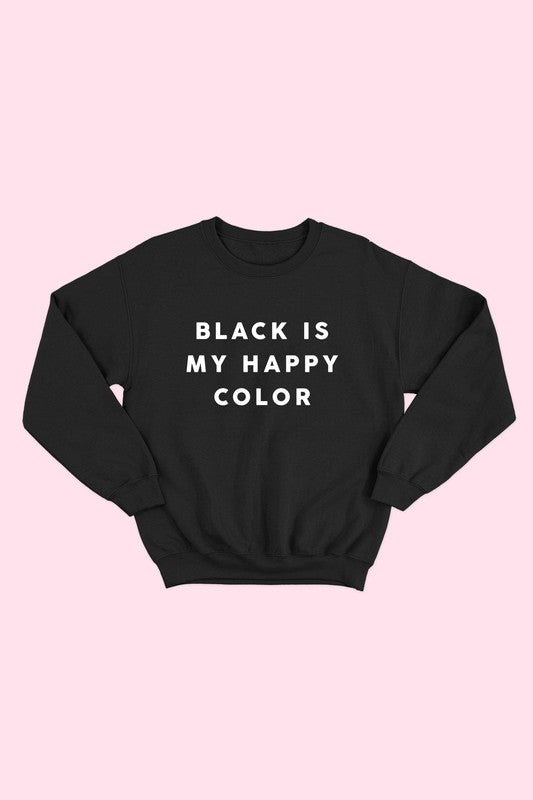 HAPPY COLOR GRAPHIC SWEATSHIRT