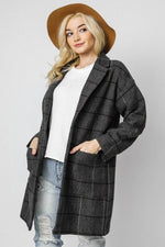 SIMPLY PLAID JACKET