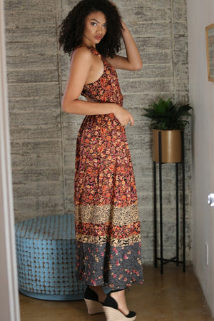 BUTTERCUP PRINTED MAXI DRESS