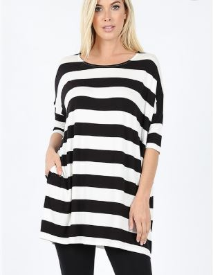 JODY STRIPE TUNIC