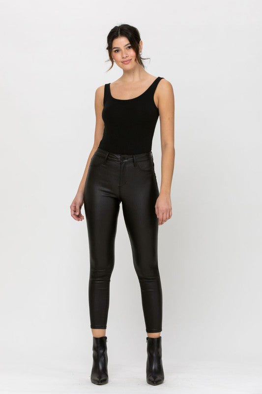 HIGH RISE CROPPED SKINNIES