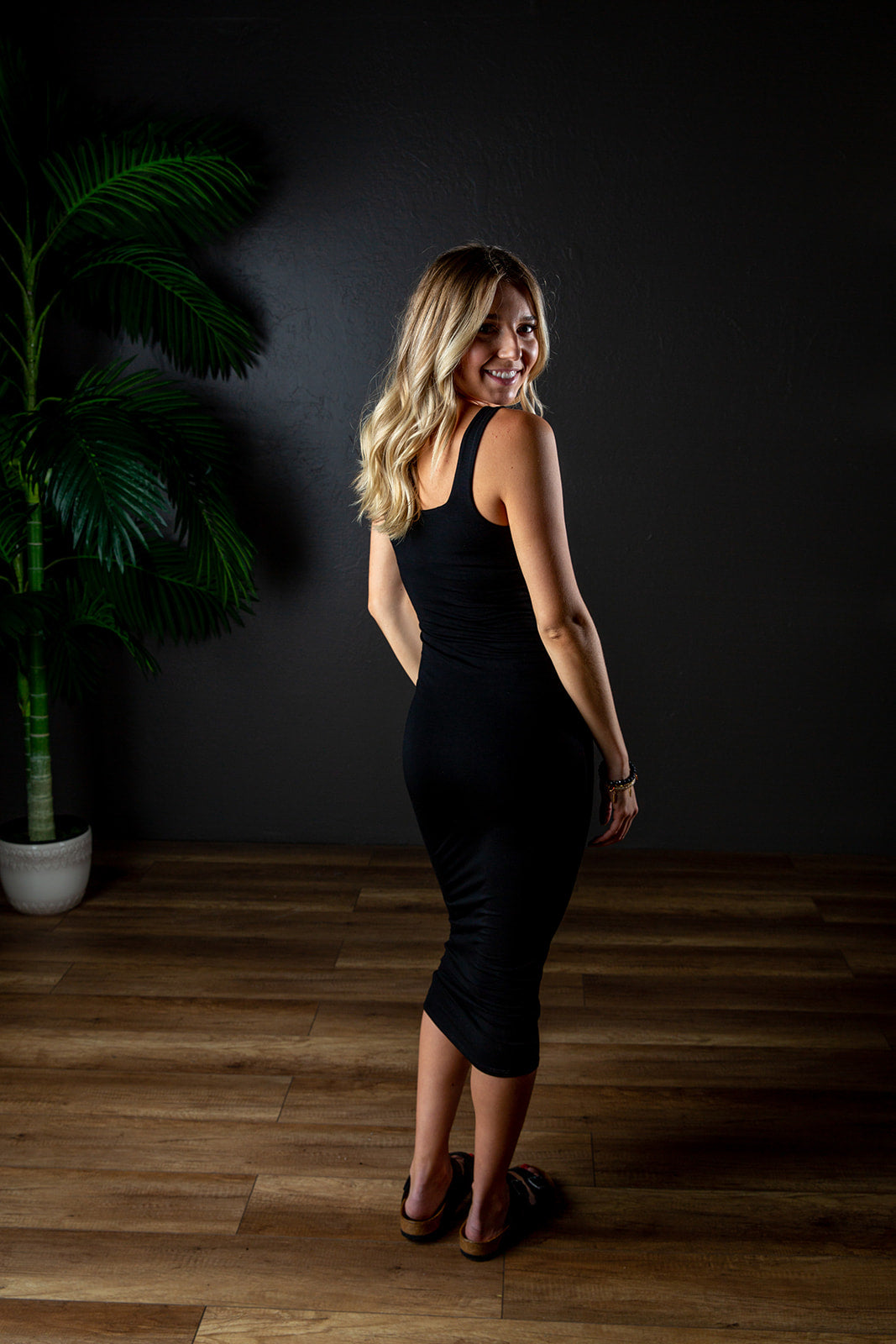 SKYLAR MIDI BODYCON DRESS