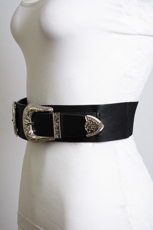 BRADLEY DOUBLE BUCKLE BELT