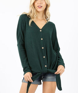 AVIS BUTTON DOWN GREEN