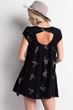 DELILAH EMBROIDERED DRESS
