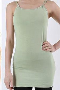 KYLIE SOLID CAMI GREEN-