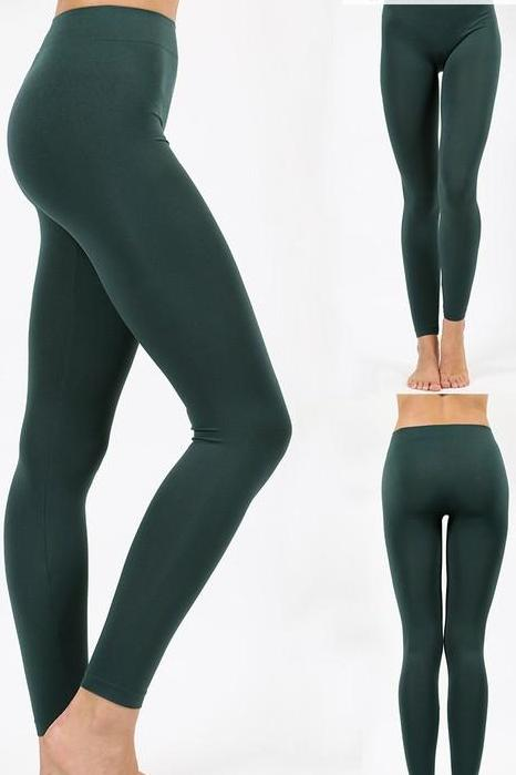 ASTRID SOLID LEGGING GREEN-