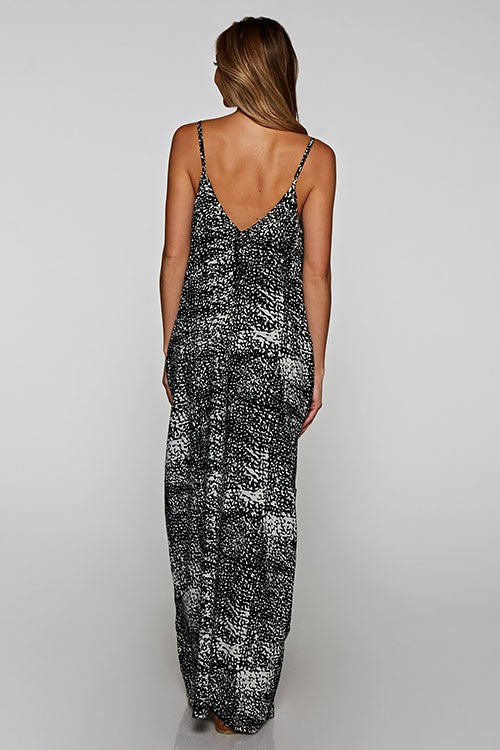 KIKA PRINTED MAXI DRESS