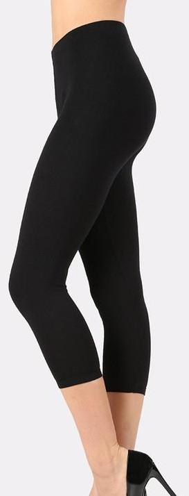 ASTRID CROP LEGGING BLACK*