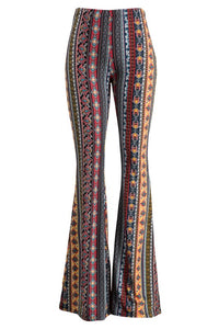 EMILIA PRINTED BELL BOTTOMS