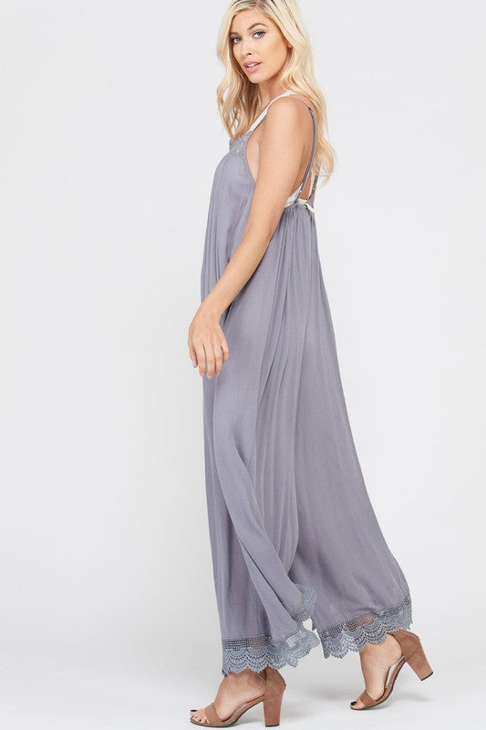 SUMMER WIDELEG JUMPSUIT
