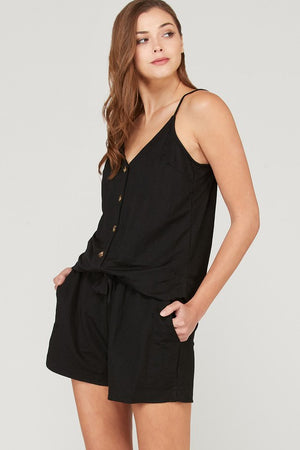 VENICE BUTTON DOWN CAMI-