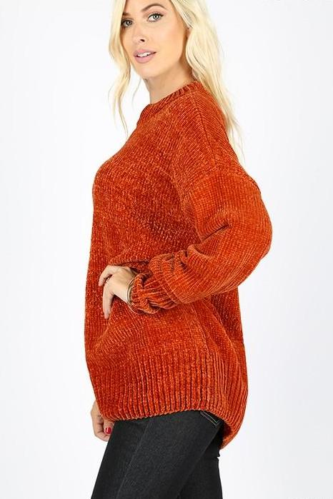 CHANNING OVERSIZED PULLOVER