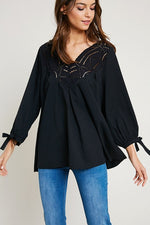 BELLA CROCHET TUNIC-