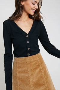 JUDITH LONG SLEEVE TOP-