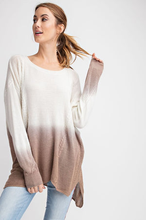 DAPHNE OMBRE PULLOVER-