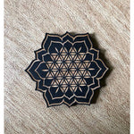 FLOWER OF LIFE LOTUS MAGNET - M5