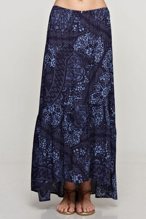LOVE BLUE MAXI SKIRT-