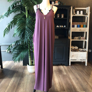 GRACE MAXI DRESS PURPLE