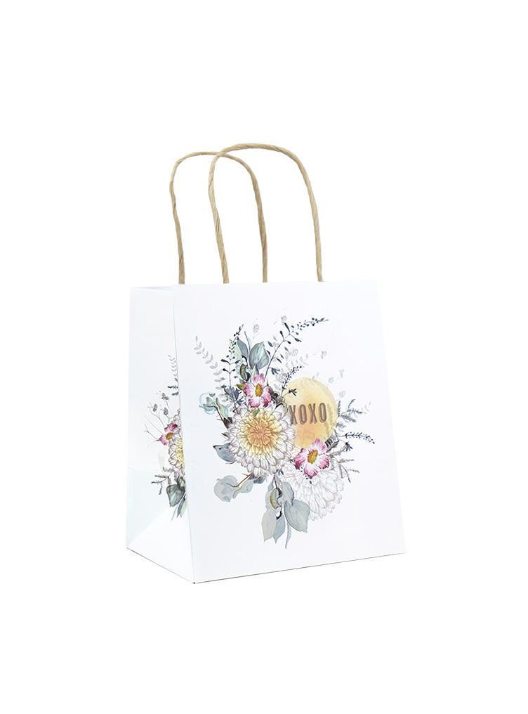 MINI GIFT BAG, SUNRISE PETALS
