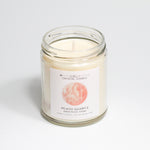 JaxKelly - Peach Quartz Crystal Candle