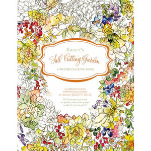 Kristy's Fall Cutting Garden: A Watercoloring Book