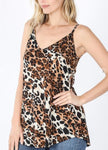 STRAIGHT UP LEOPARD CAMI
