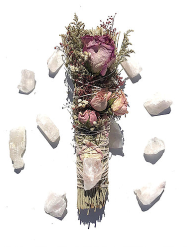 LOVE + LIGHT DANBURITE SMUDGE (DARK PINK)