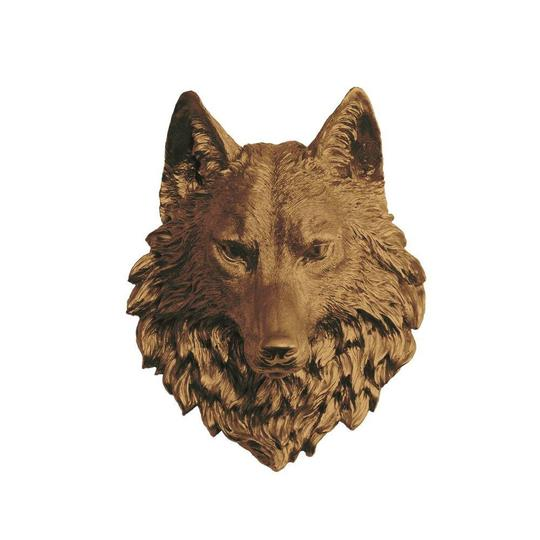 Wall Charmers - The Sierra Large Wolf Head Faux Taxidermy Single Color