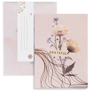 "C20 - Greeting Card- ""Grateful"""