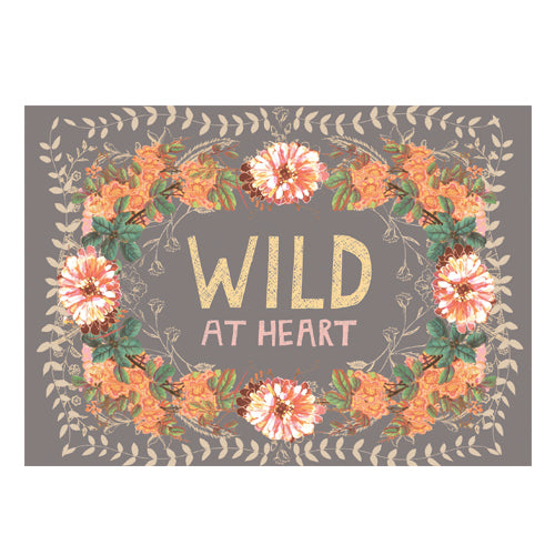C23 - Greeting Card - Wild at Heart