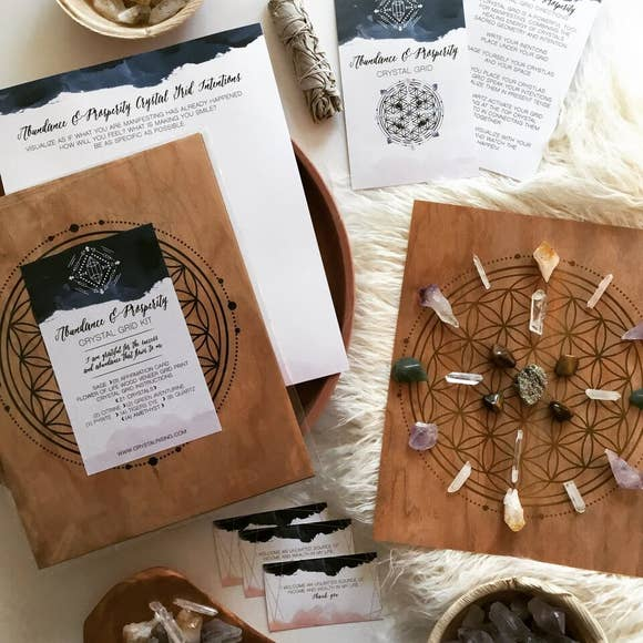 CRYSTAL GRID RITUAL KIT
