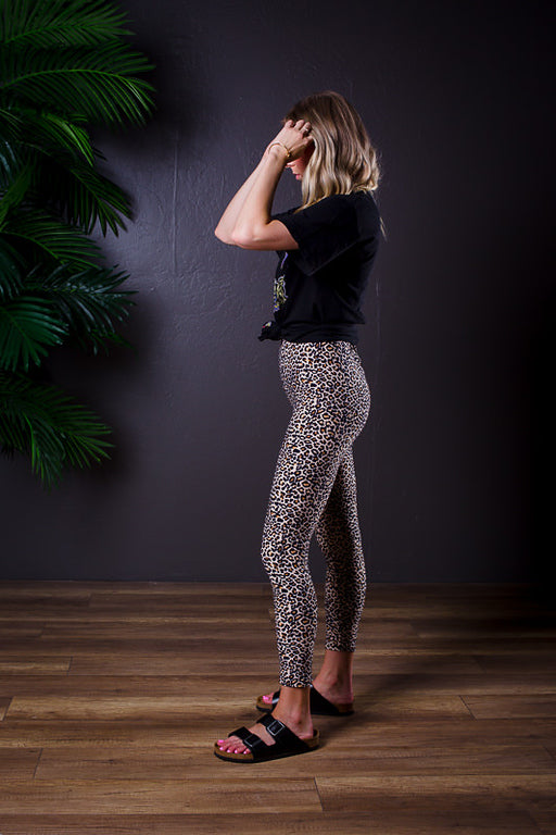 LOVIE LEOPARD PRINT LEGGINGS