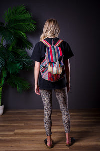 DREZDON MULTI PRINT BACKPACK