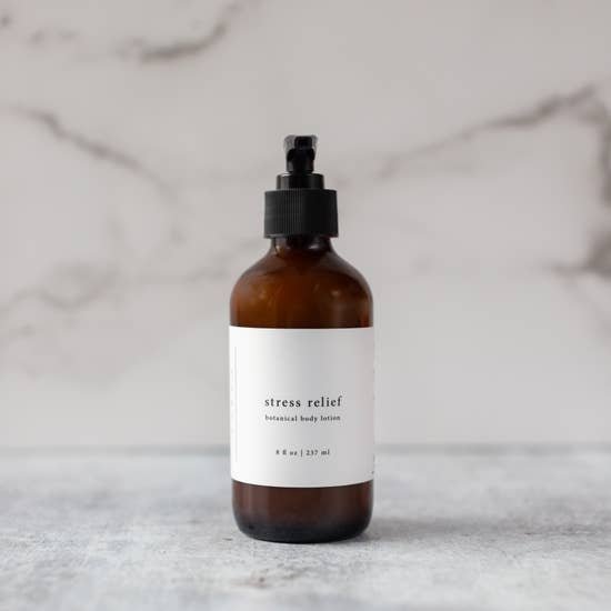 Vegan Stress Relief Body Lotion